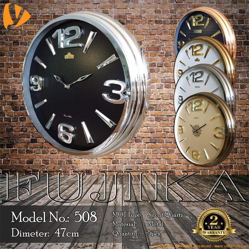 fujika-metal-wall-clock-508-b