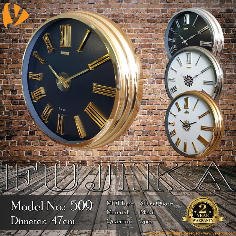 fujika-metal-wall-clock-509-b